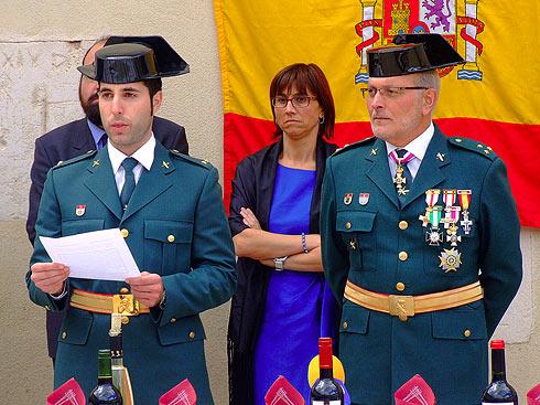 Festividad del Pilar 2012. Guardia Civil de Aranda de Duero.