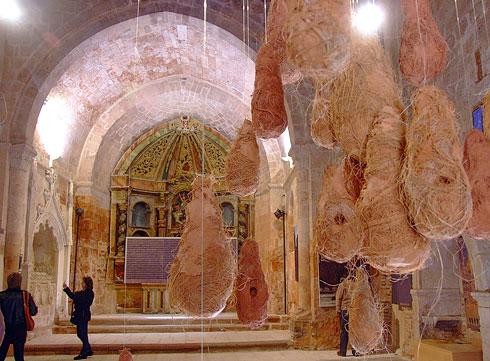 Interior de la Iglesia de San Miguel