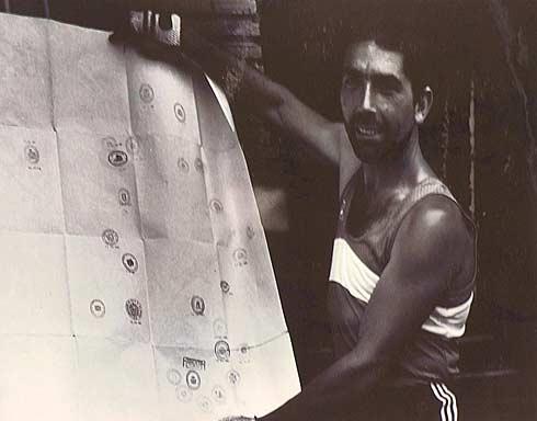 Pablo Velázquez durante una de sus rutas