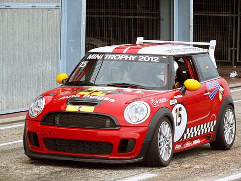 Impresionante actuación de los pilotos de la Mini Challenge