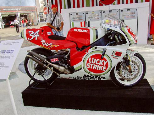 La moto campeona del mundo del mítico Kevin Schwantz
