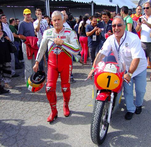 Giacomo Agostini y la legendaria MV Augusta