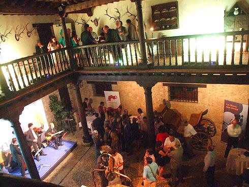 Patio interior de la Casa de Los Berdugo