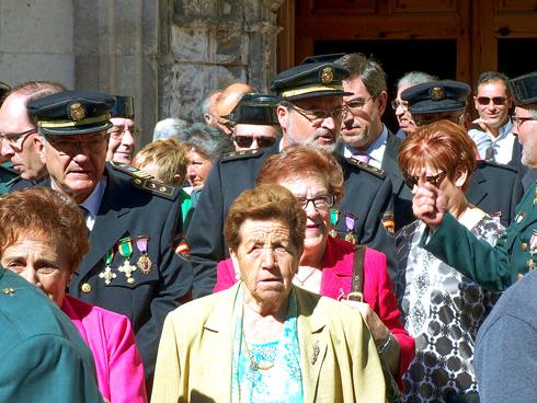 Festividad del Pilar en Aranda de Duero