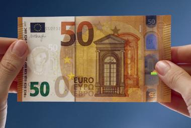 Para evitar que nos cuelen un billete falso debemos Tocar, Mirar y Girar