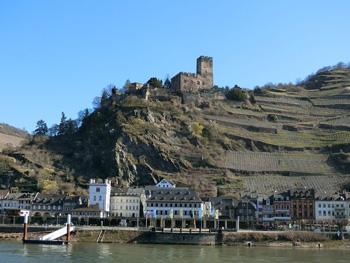 Castillo Gutenfels Kaub Alemania