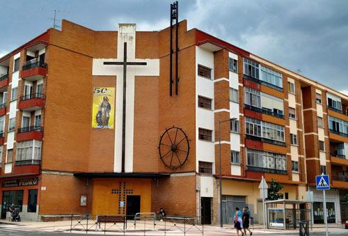 Iglesia Santa Catalina | En sus salones nació la Asociación de Vecinos