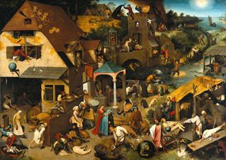 Flandes se rinde a la obra de Bruegel