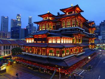 Singapur Buddha Tooth Rel