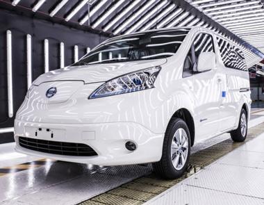 La e-NV200 cuenta con una batería de 40 KWh