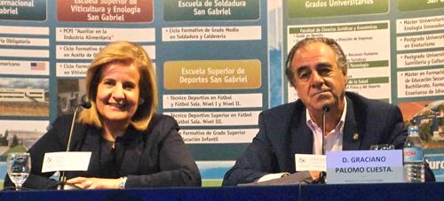 Fátima Bañez y Graciano Palomo Cuesta
