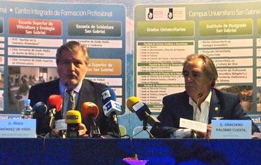 Íñigo Méndez de Vigo y Graciano Palomo Cuesta