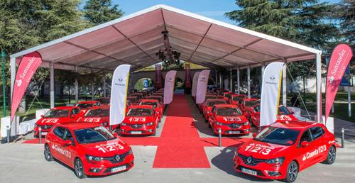 01 renault8 El Santander adquiere 750 coches Renault