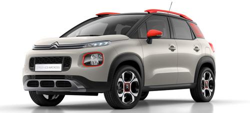 Imagen frontal del Citroën C3 Aircross