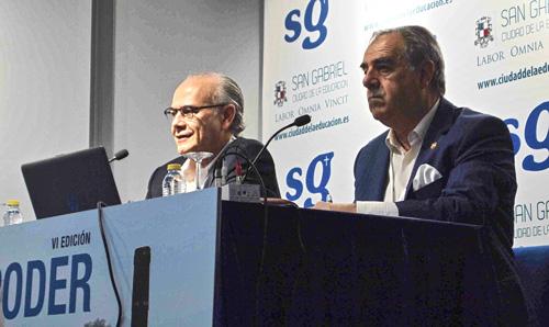 De izquierda a derecha de la imagen: Eduardo Díaz Hochleitner y Graciano Palomo