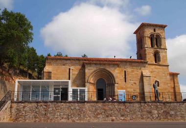 Fachada sur de la Iglesia de Santa Cecilia