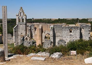Así está hoy el Monasterio de la Armedilla