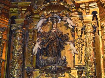 Nª Sª de la Asunción, patrona del templo