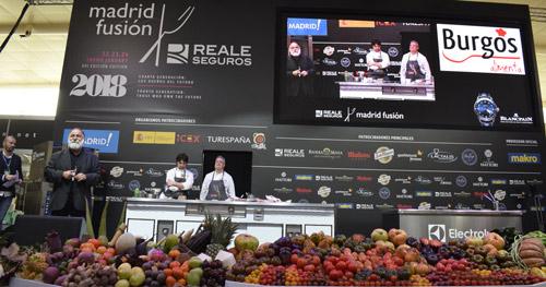 Presentación de los cocineros burgaleses por Pérez de Andrés