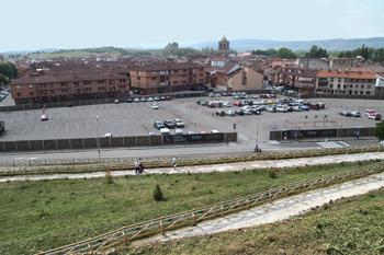 Vista de Aguilar de Campoo desde Santa Cecilia