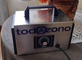 Cañón generador de ozono