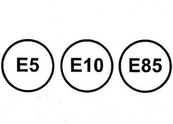 La cifra junto a la 'E' indica el porcentaje de alcohol que contiene esa gasolina