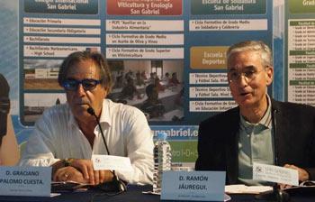 Graciano Palomo Cuesta y Ramón Jáuregui