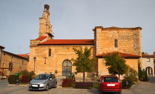 Iglesia parroquial de Santa Cruz de la Salceda (Burgos)
