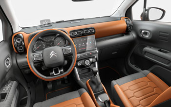 Atractivo puesto de conducción del C3 Aircross