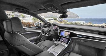 Puesto de conducción del nuevo Audi A7
