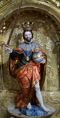San Fernando después de haber sido restaurado