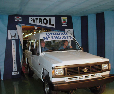 Último Patrol; año 2001