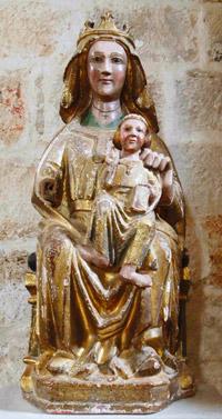 Virgen manca (finales del XIII o comienzos del XIV)