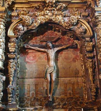 Cristo crucificado (siglo XVI)