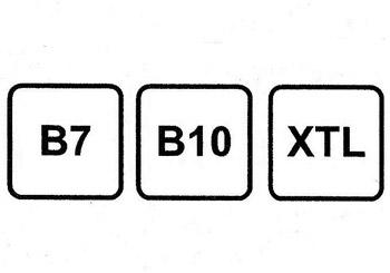 La cifra junto a la 'B' indica el porcentaje de 'biodiésel' contenido en ese gasóleo