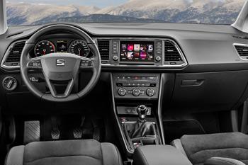 Puesto de conducción de un Seat ATECA con cambio manual