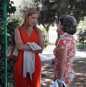 Carmen Alsina y Paloma Pérez