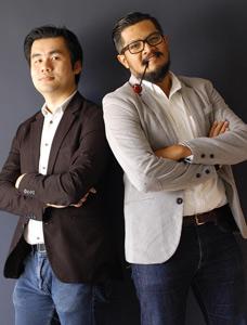 Paul Yong Rit Fui y Jaihar Jailani Bin Ismail, creadores de 'Huevo honesto'
