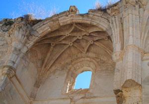 Única bóveda que permanece aún en pie
