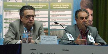 Miguel Herrero y Rodríguez de Miñón y Graciano Palomo