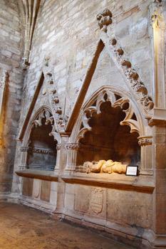 Arcosolios funerarios en la Colegiata