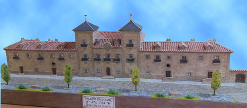 Palacio Episcopal. Primer Cuartel de la Guardia Civil en Aranda en 1845