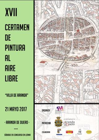"""Certamen de Pintura Al Aire Libre """"Villa de Aranda"""""""