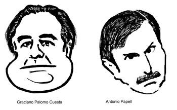 Graciano Palomo periodista | Antonio Papell periodista y escritor