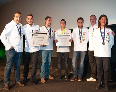 Rubén Osorio y Cristóbal Muñoz han sido los dos chefs ganadores