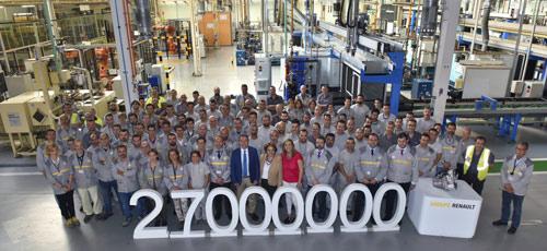 Factoría de Renault en Sevilla | Foto de familia