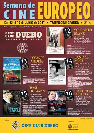 Semana de Cine europeo en Cine Club Duero