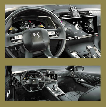 Mandos en los radios del volante y Asientos delanteros