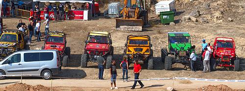 Vehículos participantes en la competición