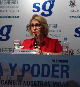 Beatriz Becerra, eurodiputada y vicepresidenta de la Comisión de Derechos Humanos del parlamento europeo